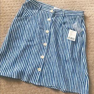 Urban button up skirt